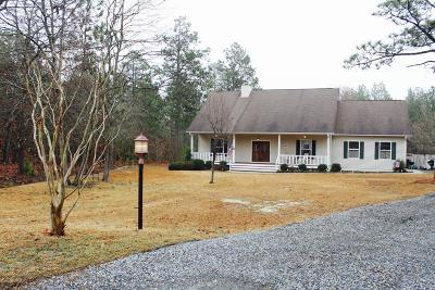Southern Pines NC Single Family Home For Sale: $249,500