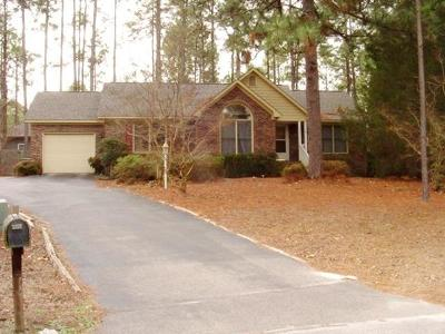 Pinehurst Rental For Rent: 120 E Sawmill Road