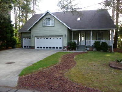 Vass NC Single Family Home For Sale: $299,975
