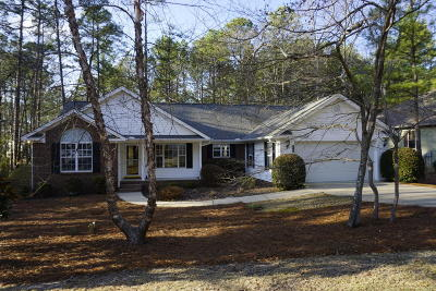 Pinehurst Single Family Home For Sale: 25 Old Hunt Rd.
