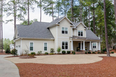 Moore County Single Family Home Active/Contingent: 95 Leven Links Lane