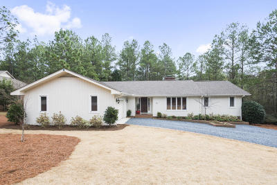 Moore County Single Family Home Active/Contingent: 30 Idlewild Road