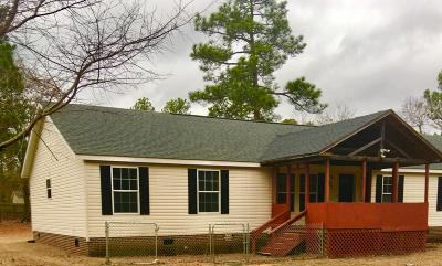 Pinebluff Single Family Home Active/Contingent: 285 Capel Drive