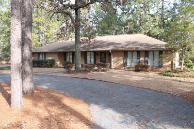 Whispering Pines Single Family Home For Sale: 12 Pine Crest Drive