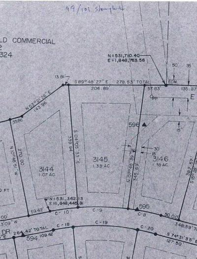Pinewild Cc Residential Lots & Land Active/Contingent: 101 Stoneykirk Drive