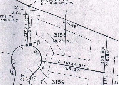 Pinewild Cc Residential Lots & Land Active/Contingent: 85 Stoneykirk Drive