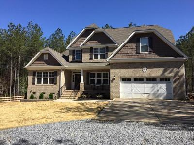 Vass Single Family Home For Sale: 295 Summer Creek Trail