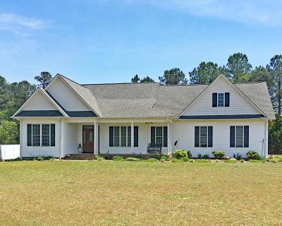 Vass Single Family Home For Sale: 170 Henry Lane