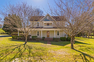 Carthage Single Family Home Active/Contingent: 406 E Saunders Street