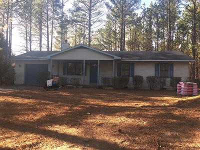 Pinehurst NC Single Family Home Active/Contingent: $169,000