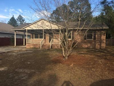 Pinehurst NC Single Family Home For Sale: $169,000