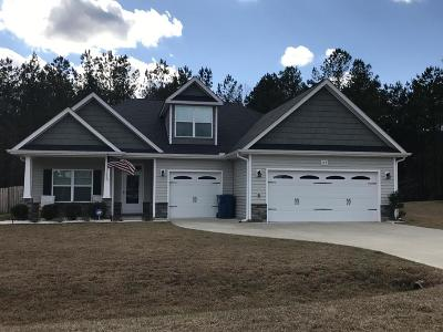 Moore County Single Family Home Active/Contingent: 145 Almond Drive