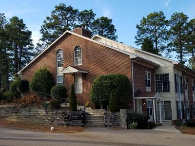 Moore County Condo/Townhouse Active/Contingent: 13 Pinehurst Manor #C