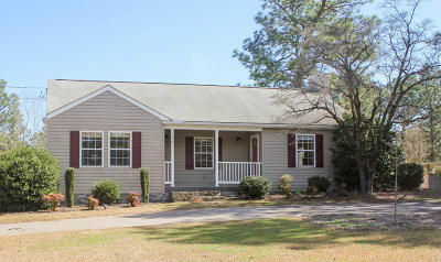 Southern Pines Single Family Home For Sale: 1445 Central Drive