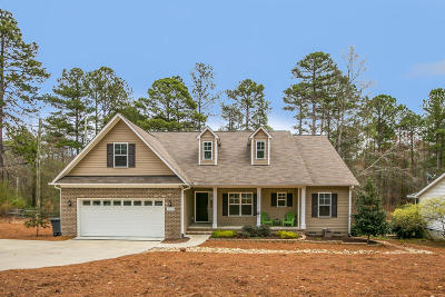 Moore County Single Family Home Active/Contingent: 2660 SW Longleaf Drive