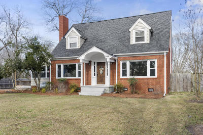 Moore County Single Family Home Active/Contingent: 304 McReynolds