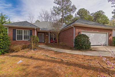 Pinehurst Single Family Home For Sale: 2610 W Longleaf Drive