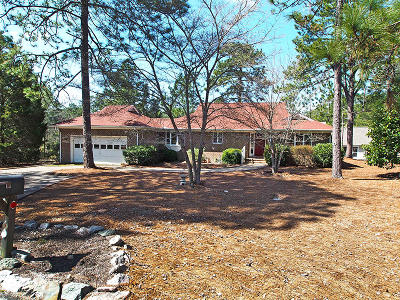 Pinehurst Single Family Home Active/Contingent: 7 Vinson Lane
