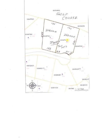 Foxfire Residential Lots & Land For Sale: 23 & 24 Birdie Court