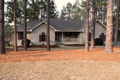 Moore County Single Family Home Active/Contingent: 113 Rothbury Drive