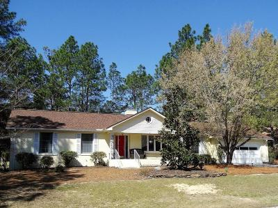 Pinehurst Single Family Home For Sale: 105 Lost Tree Road
