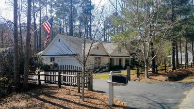 Southern Pines Single Family Home For Sale: 570 Hill Road