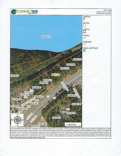 Vass Residential Lots & Land For Sale: Us Hwy 1