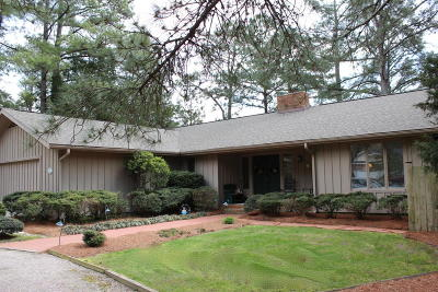 Pinehurst Single Family Home For Sale: 90 Pine Meadows Road