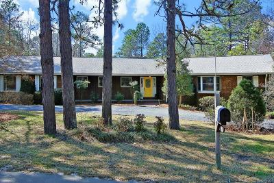 Pinehurst Single Family Home For Sale: 65 E McDonald Road