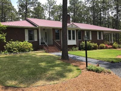 Pinehurst Single Family Home For Sale: 205 Midland Lane