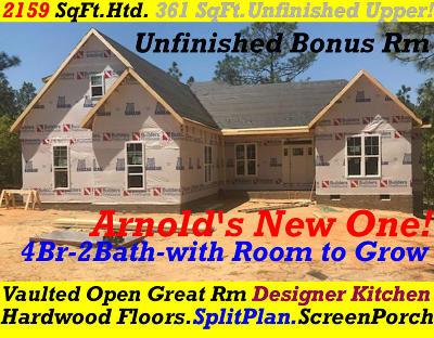 Pinehurst NC Single Family Home For Sale: $314,900