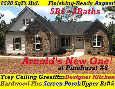 Pinehurst NC Single Family Home For Sale: $344,900