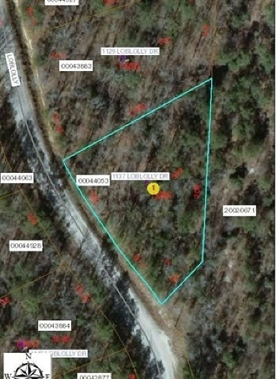 Vass Residential Lots & Land For Sale: 1137 Loblolly Drive