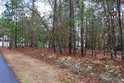 Pinehurst Residential Lots & Land Active/Contingent: 1660 E Longleaf Drive