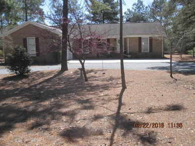 Foxfire NC Single Family Home Active/Contingent: $185,000