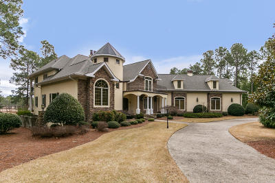 Southern Pines Single Family Home For Sale: 12 Masters Ridge Drive