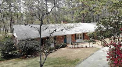 Southern Pines Single Family Home Active/Contingent: 820 Barber Road
