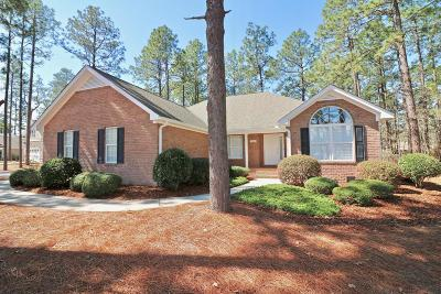 Pinehurst NC Single Family Home Active/Contingent: $235,000