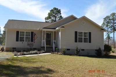 Pinebluff Single Family Home Active/Contingent: 186 Capel Drive