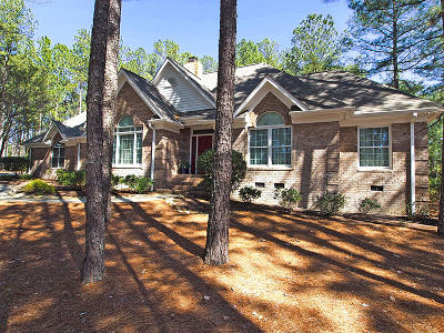 Pinewild Cc Single Family Home Active/Contingent: 12 Loch Lomond Court