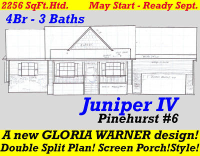 Pinehurst Single Family Home For Sale: 198 Juniper Creek Boulevard