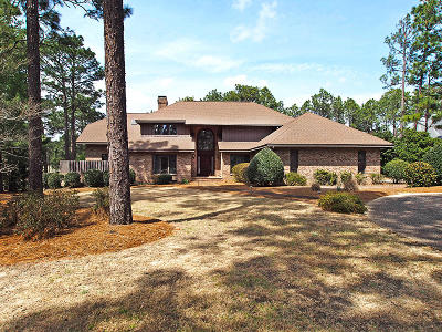 Pinehurst NC Single Family Home Active/Contingent: $649,000