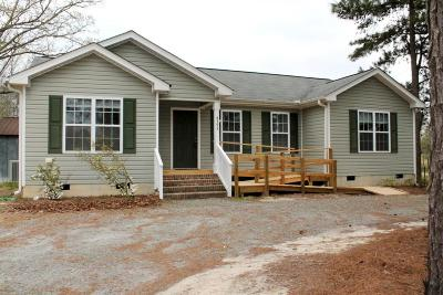 Carthage Single Family Home Active/Contingent: 4595 Union Church Road