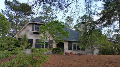 Pinehurst Single Family Home Active/Contingent: 110 Canter Lane