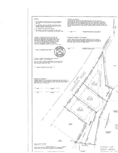 Southern Pines Residential Lots & Land For Sale: 963 Sandavis Road