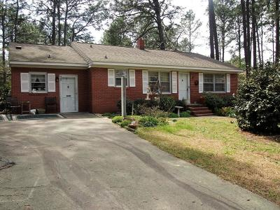 Southern Pines Single Family Home Active/Contingent: 440 W Delaware