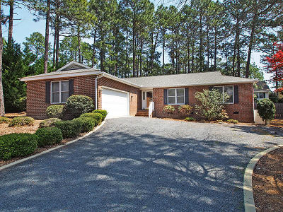Pinehurst Single Family Home Active/Contingent: 60 Pitch Pine Lane