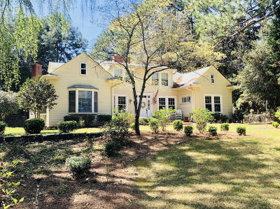 Southern Pines Single Family Home Active/Contingent: 1465 W Connecticut Avenue