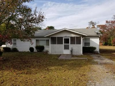 West End NC Single Family Home For Sale: $59,900