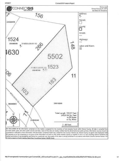 Pinehurst Residential Lots & Land For Sale: 41 Middlebury Road